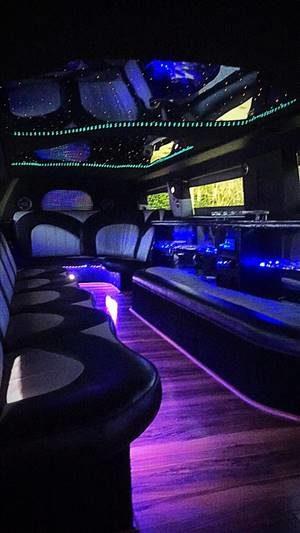 hummer limousine service interior