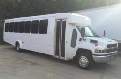 party bus limo rental fleet vehicle